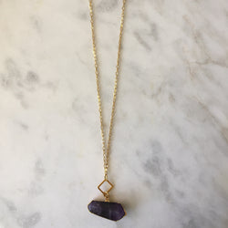 Ease Necklace - Amethyst