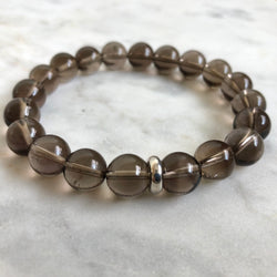 Chitta Men's Bracelet - Smoky Quartz
