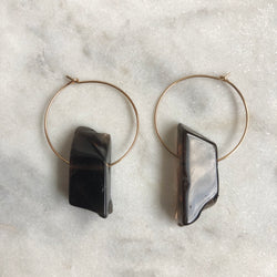 Superconscious Earrings - Smoky Quartz