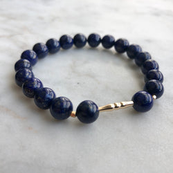 New Kind of Freedom Bracelet - Lapis Lazuli