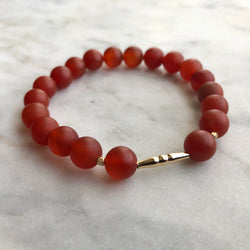 New Kind of Freedom Bracelet - Carnelian