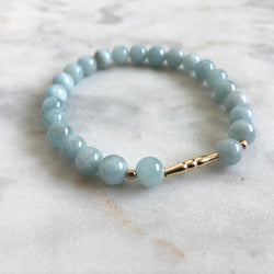 New Kind of Freedom Bracelet - Aquamarine