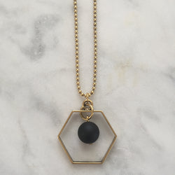 Satya Necklace - Onyx