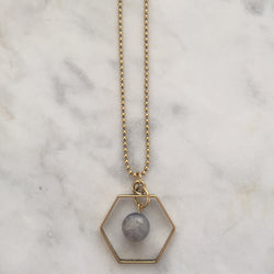 Satya Necklace - Iolite