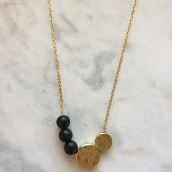 Balance Necklace - Onyx