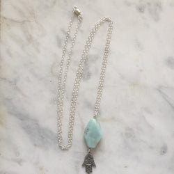 Protection Necklace - Amazonite