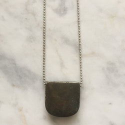 Intelligent Action Necklace - Pyrite