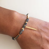 Labradorite bracelet - change and transformation