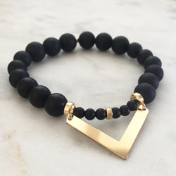 Movement with Intelligence Bracelet - Onyx