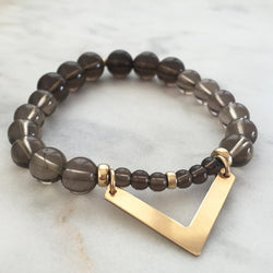 Movement with Intelligence Bracelet - Smoky Quartz