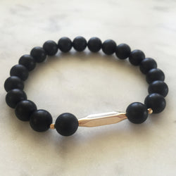 New Kind of Freedom Bracelet - Onyx