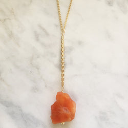 Receptivity Necklace - Carnelian