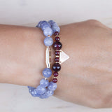 New Kind of Freedom Bracelet - Iolite