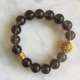 Seat of the Soul Bracelet - Smoky Quartz