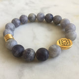 Seat of the Soul Bracelet - Iolite