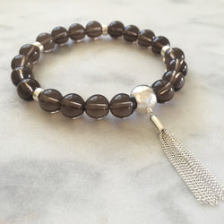 Spark of Divinity Bracelet - Smoky Quartz