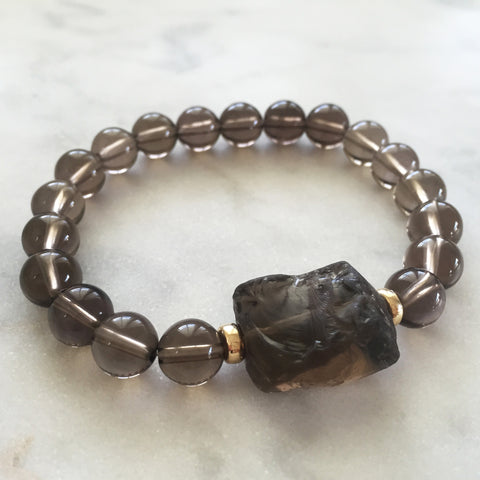 Universal Reality Bracelet - Smoky Quartz