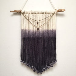 Smoky Quartz Wall Hanging