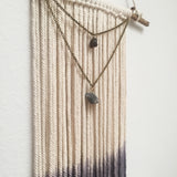 Labradorite & Smoky Quartz Wall Hanging