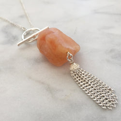 Expansion Necklace - Carnelian