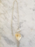 Expansion Necklace - Citrine