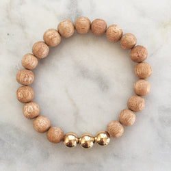 Growth & Guidance Bracelet - Mahogany
