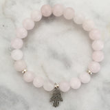 Protection Bracelet - Rose Quartz