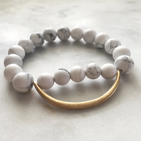 Still the Mind Bracelet - Howlite