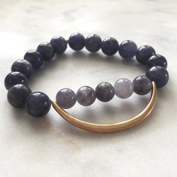 Still the Mind Bracelet - Iolite