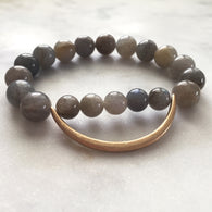 Still the Mind Bracelet - Labradorite