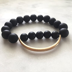 Still the Mind Bracelet - Onyx