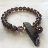 Thou Art That Bracelet - Smoky Quartz