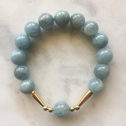 Union Bracelet - Aquamarine