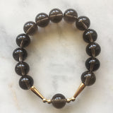 Union Bracelet - Smoky Quartz