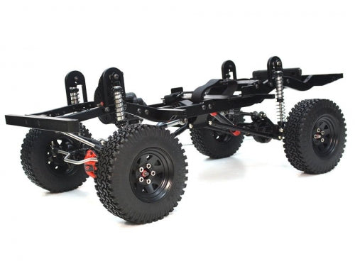 1/10 ARTR Assembled D90 Chassis for Defender D90 (non-opening door body)