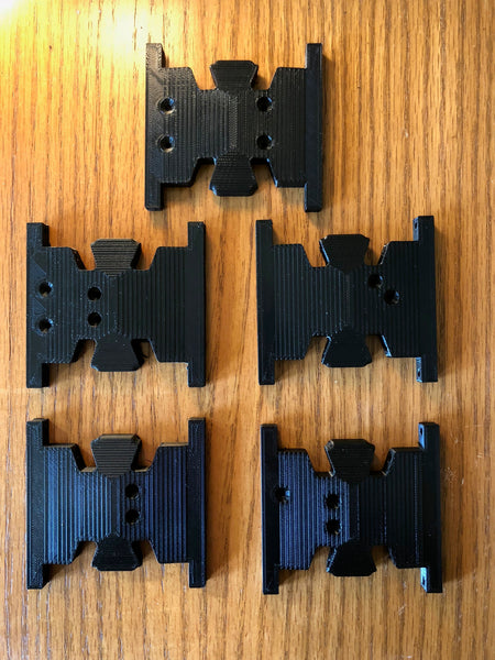 SCX10 & SCX10ii Skids for different transmissions