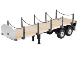 Hercules Hobby 2-Axle Flatbed Semi-Trailer Kit For 1/14 RC Tamiya Freightliner Cascadia Evolution Truck
