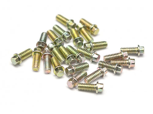Boom Racing Scale M2 * 4.5mm Wheel Bolts Screw (20) KRAIT™ Beadlock Zinc Plated
