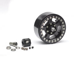 Boom Racing Krait™ 1.9 Golem Aluminum Beadlock Wheels 1 Piece Spare Black