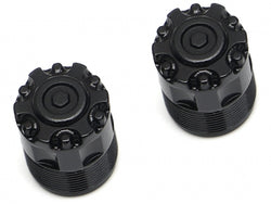 "Boom Racing Front Center Hubs Cab For Boom Racing 1.55"" / 1.9"" Steelie Beadlock Wheels"