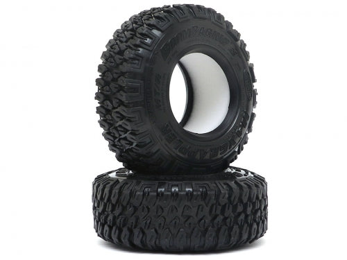 "1.9"" MAXGRAPPLER Scale RC Tire Gekko Compound 3.82""x1.26"" (97x32mm) Open Cell Foams (2)"