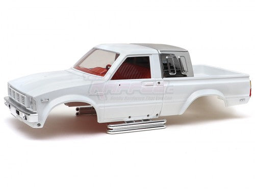 1/10 4X4 Pick-Up Truck Hard Body w/ Full Interior 287mm Hilux White
