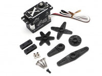 JX Servo 45KG (624oz) Waterproof Aluminum Case Brushless Metal Gear Digital Servo 0.11S 45kg @8.4V