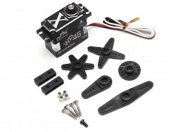 JX Servo 45KG Waterproof Aluminum Case Brushless Metal Gear Digital Servo 0.11S 45kg @8.4V