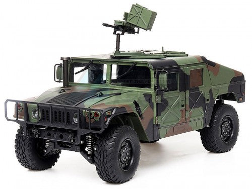 1/10 4WD 2.4G 16CH Military Green Camouflage Humvee Crawler ARTR