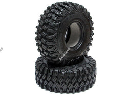 Boom Racing HUSTLER M/T Xtreme 1.9 MC2 Rock Crawling Tires 4.75x1.75 SNAIL SLIME™ Compound W/ 2-Stage Foams (Ultra Soft) 2pcs