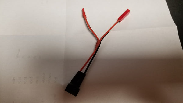 3s lipo no-solder Dragon and servo connector - male & female jst