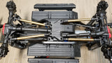 "Axial SCX10ii 12.3"" (313mm) wheelbase - straight brass kit"