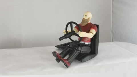 Male Driver Figure - 3d Printed