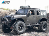 Team Raffee Co. 5 Door Jeep Rubicon Hard Body for 1/10 Crawler 313mm Kit Version White
